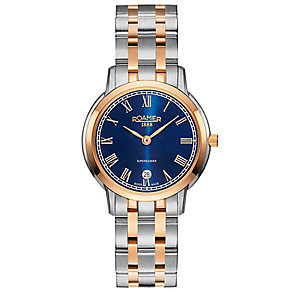 Roamer Super Slender Ladies' Two Colour Bracelet Watch - Product number 5235235
