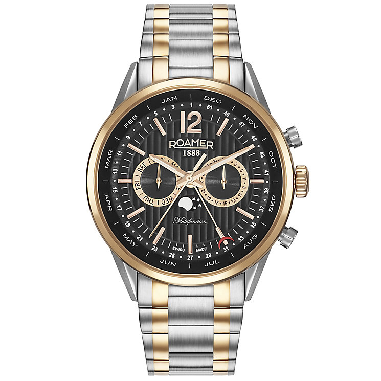 Roamer Superior Business Multifunction Men's Bracelet Watch - Product number 5235332