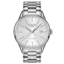 Roamer Superior 3H Men's Stainless Steel bracelet Watch - Product number 5235340