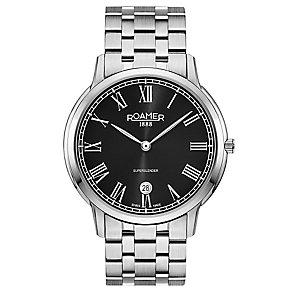 Roamer Super Slender Men's Stainless Steel Bracelet Watch - Product number 5235383