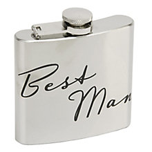 Amore 50oz Best Man Hip Flask - Product number 5235839