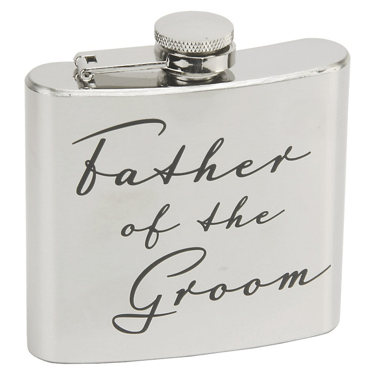 Amore 50oz Father Of The Groom Hip Flask - Product number 5235928