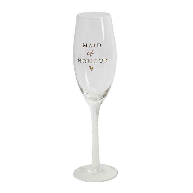 Amore Maid Of Honour Champagne Glass Flute - Product number 5236487