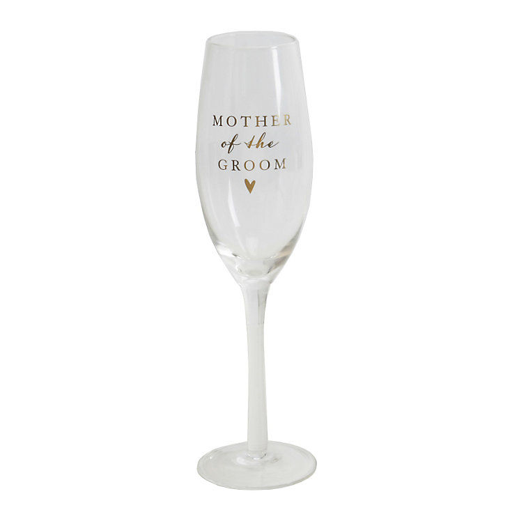 Amore Mother Of Groom Champagne Glass Flute - Product number 5236495