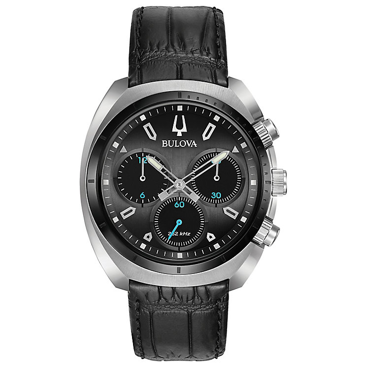 Bulova Curv Men's Chronograph Stainless Steel Strap Watch - Product number 5239915