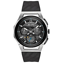 Bulova Curv Men's Chronograph Stainless Steel Strap Watch - Product number 5239958