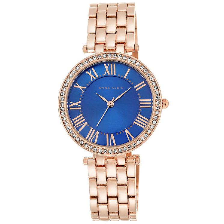 Anne Klein Ladies' Rose Gold Tone Bracelet Watch - Product number 5240034