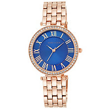 Anne Klein Ladies' Rose Gold Tone Bracelet Watch - Product number 5240034