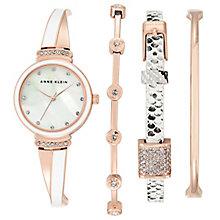 Anne Klein Ladies' Swarovski Element Multi Bracelet Watch - Product number 5240042
