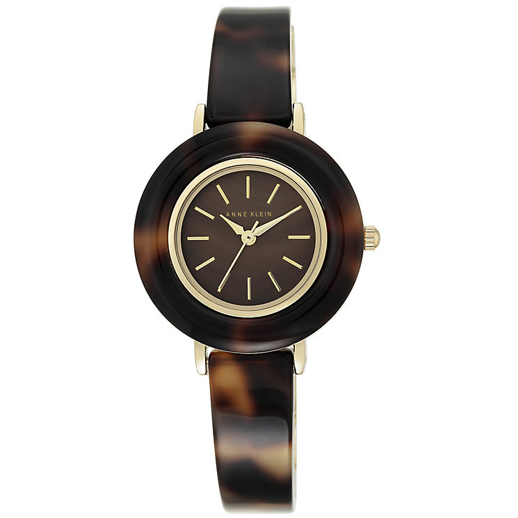 Anne Klein Tortoise Resign Bangle Watch - Product number 5240050