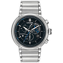 Citizen Eco-Drive Proximity Men's Steel Bracelet Watch - Product number 5240247