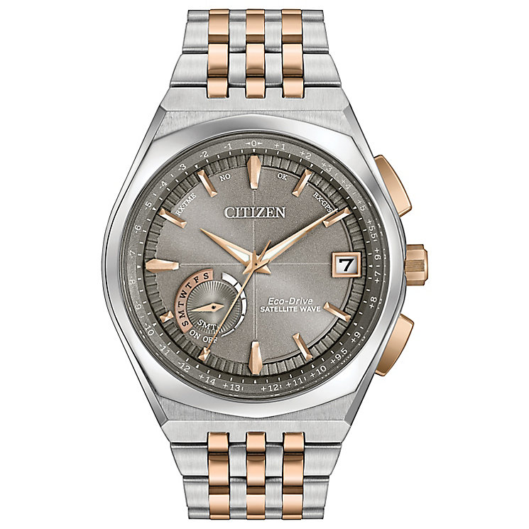 Citizen Eco-Drive Satellite Wave Men's Steel Bracelet Watch - Product number 5241839