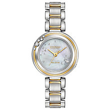 Citizen Eco-Drive L Carina Ladies' 2 Colour Bracelet Watch - Product number 5241855
