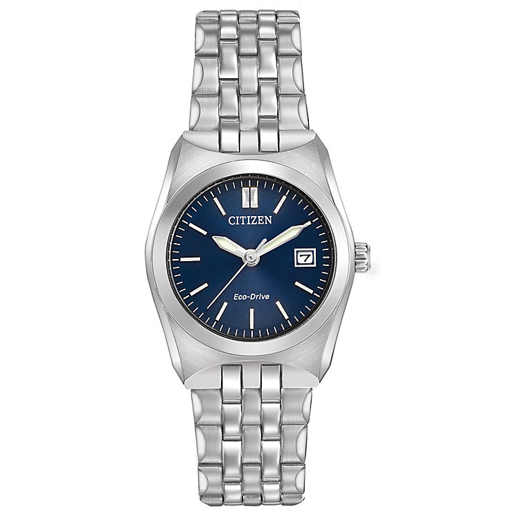 Citizen Eco-Drive Corso Ladies' Steel Bracelet Watch - Product number 5241863