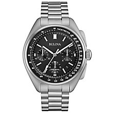 Bulova Moon Chronograph Men's Stainless Steel Bracelet Watch - Product number 5242088