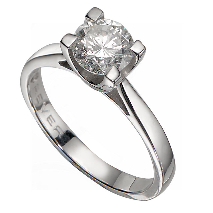 18ct White Gold 1 Carat Forever Diamond Ring - Product number 5242347