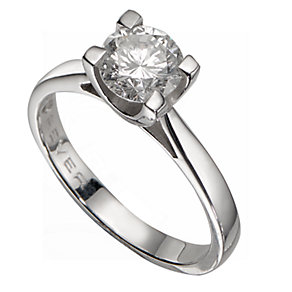 The Forever Diamond - 18ct White Gold 1 Carat Diamond Ring - Product number 5242347