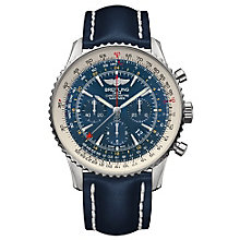 Breitling Navitimer GMT Men's Stainless Steel Strap Watch - Product number 5242894