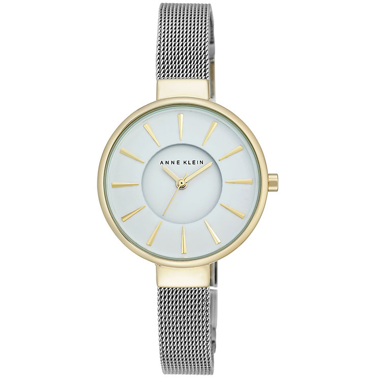 Anne Klein Ladies' Silver and Gold Tone Watch - Product number 5246954