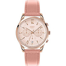Henry London Shoreditch Ladies' Nude Leather Strap Watch - Product number 5247977