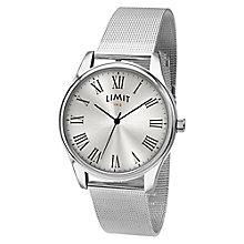 Men's Limit Silver Mesh Bracelet Watch - Product number 5248361
