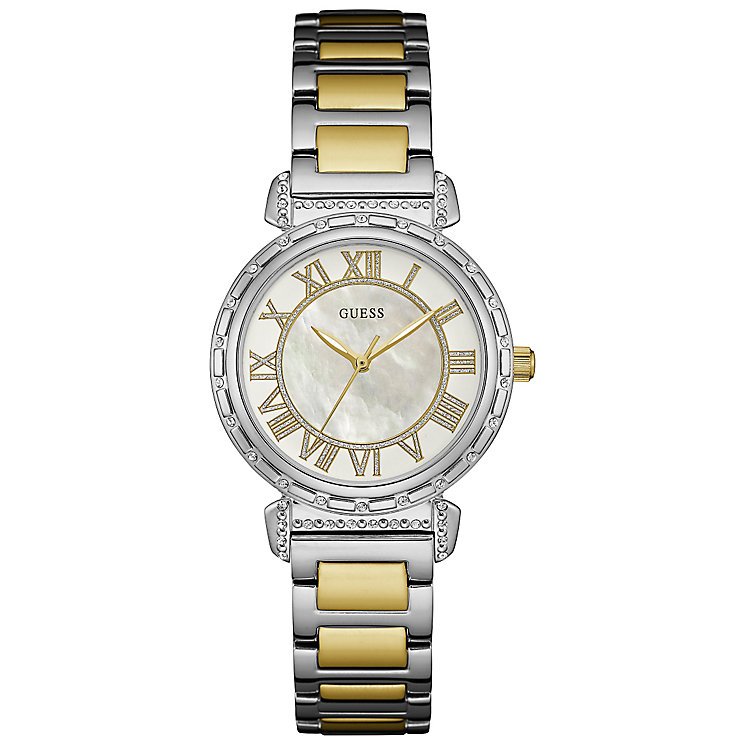 Guess Ladies' 2 Colour Stainless Steel Bracelet Watch - Product number 5248566