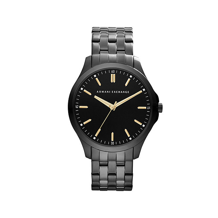 Armani Exchange Gents Black Bracelet Watch - Product number 5249759
