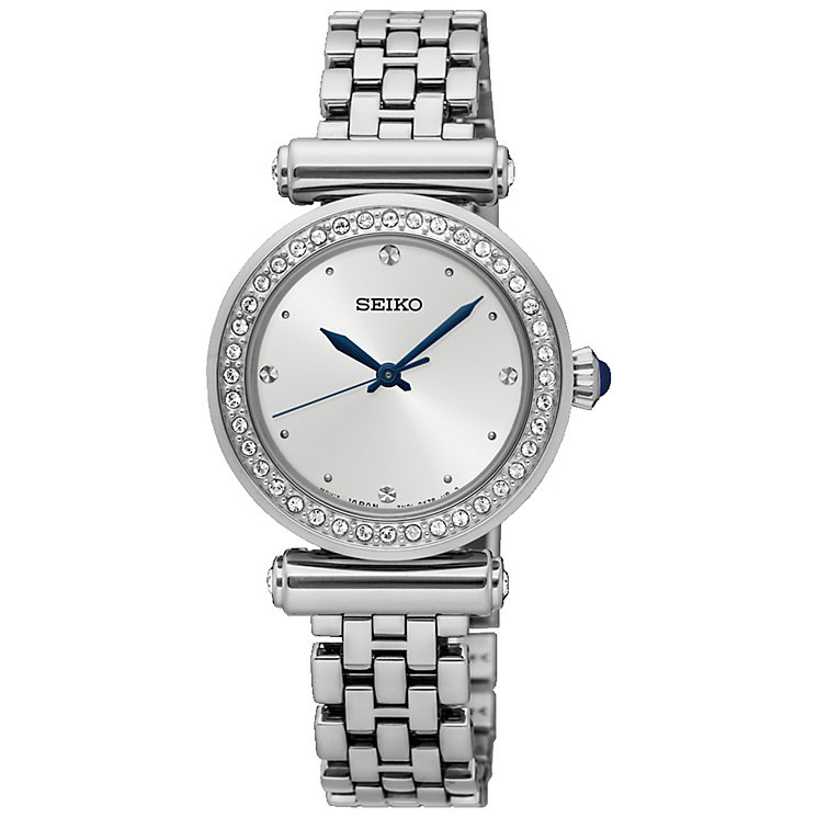 Seiko Ladies' Stainless Steel Swarovski Bracelet Watch - Product number 5252679