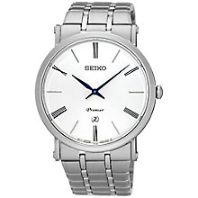 Seiko Premier Men's White Dial Bracelet Watch - Product number 5252814
