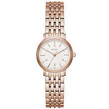 DKNY Ladies' Rose Gold Plated Bracelet Watch - Product number 5253837