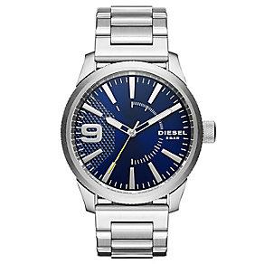 Diesel Rasp Men's Blue Dial Stainless Steel Bracelet Watch - Product number 5253942