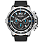 Diesel Deadeye Men's Chronograph Black Leather Strap Watch - Product number 5253969