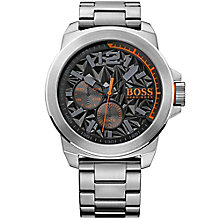 Boss Orange New York Men's Stainless Steel Bracelet Watch - Product number 5254051