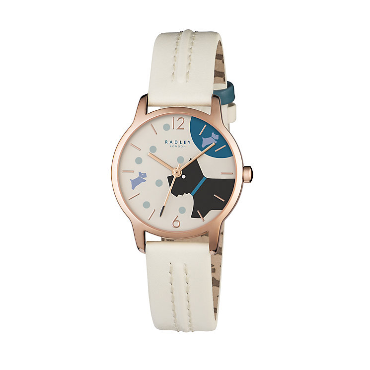 Radley Ladies' Blonde Leather Strap Watch - Product number 5254183