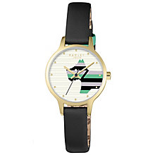 Radley Ladies' Black Leather Strap Watch - Product number 5254191