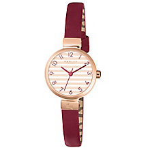Radley Ladies' Red Leather Strap Watch - Product number 5254213