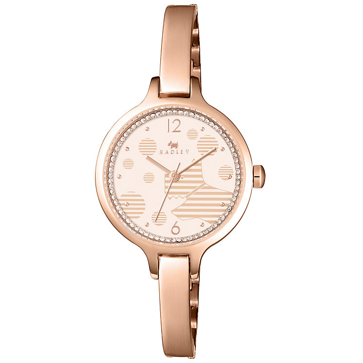 Radley Ladies' Rose Gold Plated Bracelet Watch - Product number 5254272
