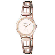 Radley Ladies' Stone Set Rose Gold-Plated Bracelet Watch - Product number 5254299
