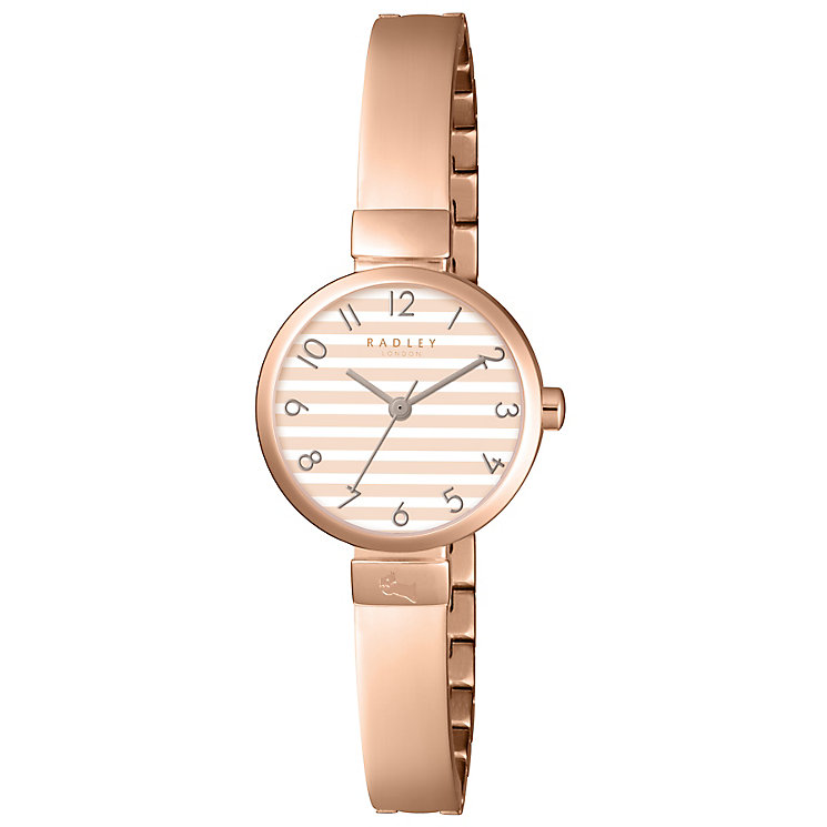 Radley Ladies' Rose Gold Plated Bracelet Watch - Product number 5254302