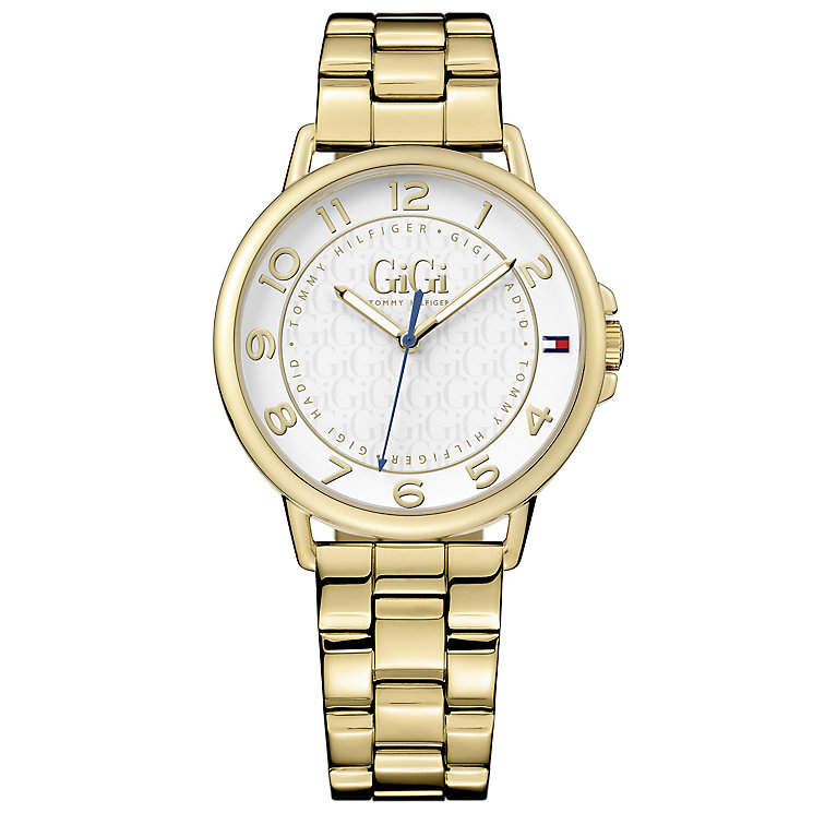Tommy Hilfiger GiGi Ladies' Gold-Plated Bracelet Watch - Product number 5254329