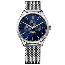 Tommy Hilfiger Gent's Stainless Steel Mesh Bracelet Watch - Product number 5254493