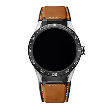 TAG Heuer Connected Men's Brown Strap Watch - Product number 5255422