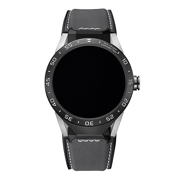 TAG Heuer Connected Men's Grey Strap Watch