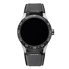 TAG Heuer Connected Men's Grey Strap Watch - Product number 5255430