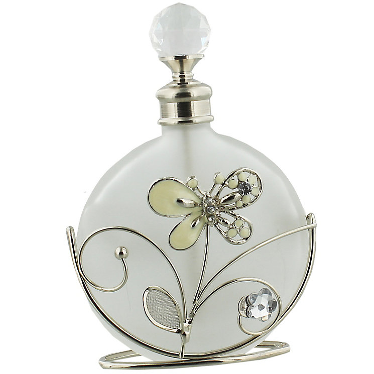 Cream Butterfly Perfume Bottle - Product number 5256909