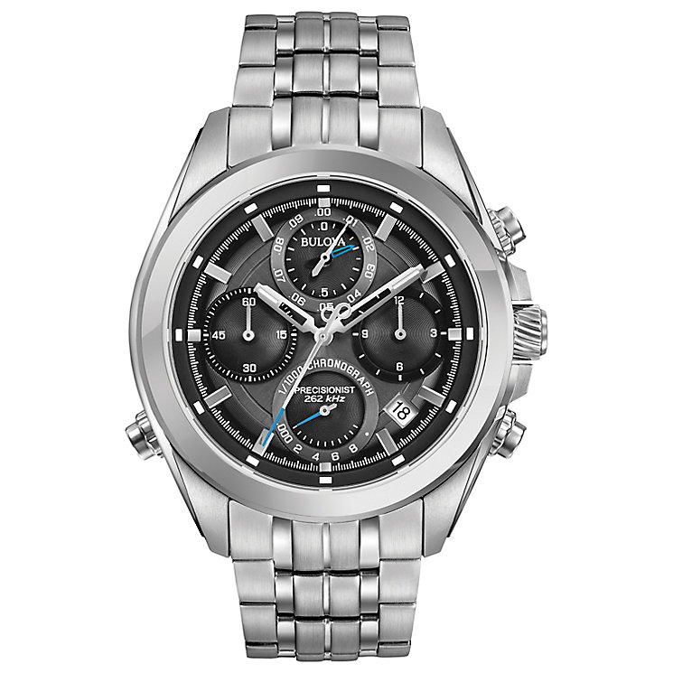 Bulova Precisionist Men's Stainless Steel Bracelet Watch - Product number 5257549