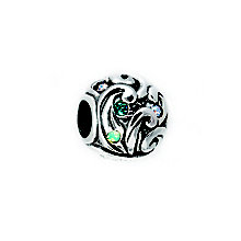 Chamilia Swarvoski Crystal Disney Moana Ocean Waves Bead - Product number 5266173