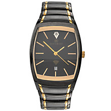 Accurist Gent's Two Tone Bracelet Watch - Product number 5266998