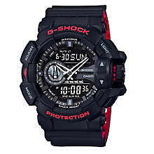 G-Shock World Time Black Resin Strap Watch - Product number 5267099