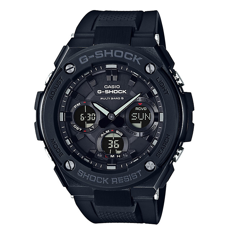 Casio G-Shock G-Steel Stainless Steel Black Resin Watch - Product number 5267110